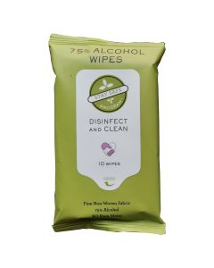 Sanitizer Wipes (10/pack) #10-ACC
