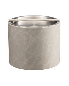 1qt Slate Gray Ice Bucket w/ Stainless Barhandle Cover