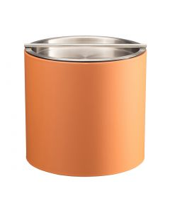 2qt Spice Orange Ice Bucket w/ Stainless Handlebar Cover