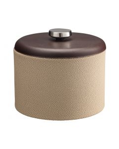 MESA Ice Bucket w/ Dome Material w/ Stainless Disk: SHAGREEN FAWN