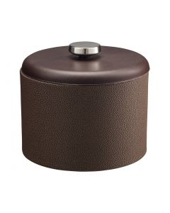 MESA Ice Bucket w/ Dome Material w/ Stainless Disk: SHAGREEN CHOCOLATE
