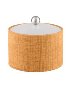 Mesa Ice Bucket w/ Acrylic Cover & Brushed Stainless Ball Knob: MUSE TUSCAN HILLS