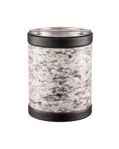 TALL Ice Bucket w/ Stainless Handlebar Cover: QUARRY AMARILLO STONE