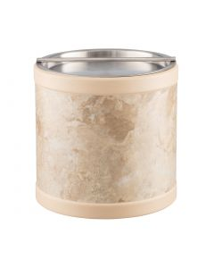 3qt Ice Bucket w/ Stainless Handlebar Cover: QUARRY SANDSTONE