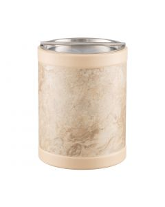 TALL Ice Bucket w/ Stainless Handlebar Cover: QUARRY SANDSTONE