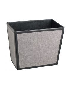 Frieze Black & Heather - Rectangle Waste Basket - (Liners Sold Separately)